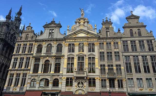 Edificios Bruselas
