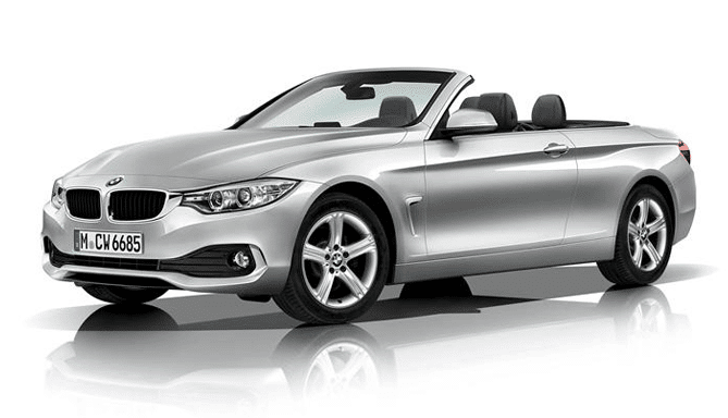 Alquiler coche cabrio BMW serie 4