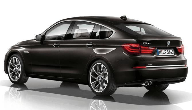 Alquiler coche premium BMW serie 5 GT
