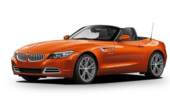 Alquiler coche descapotable BMW Z4