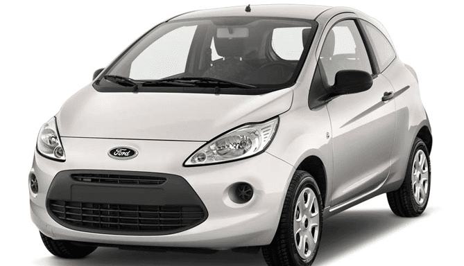 Alquiler coche económico Ford Ka