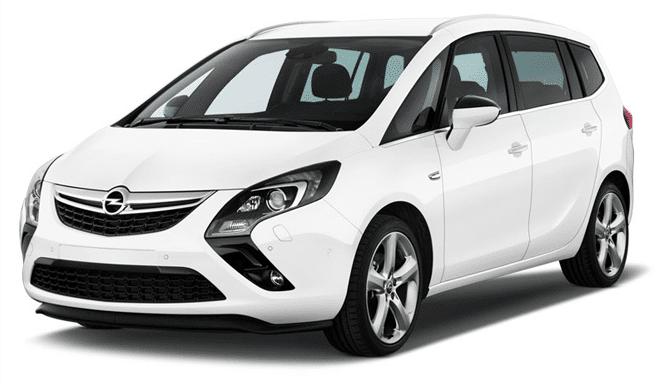Alquiler coche Minivan Opel Zafira