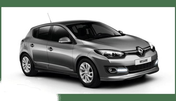 Alquiler coche compacto Renault Megane