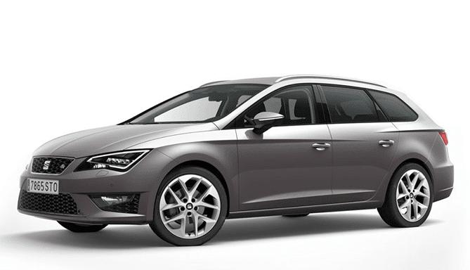 Alquiler coche familiar Seat Leon