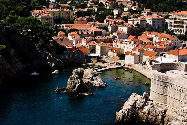 Playa ciudad Dubrovnik
