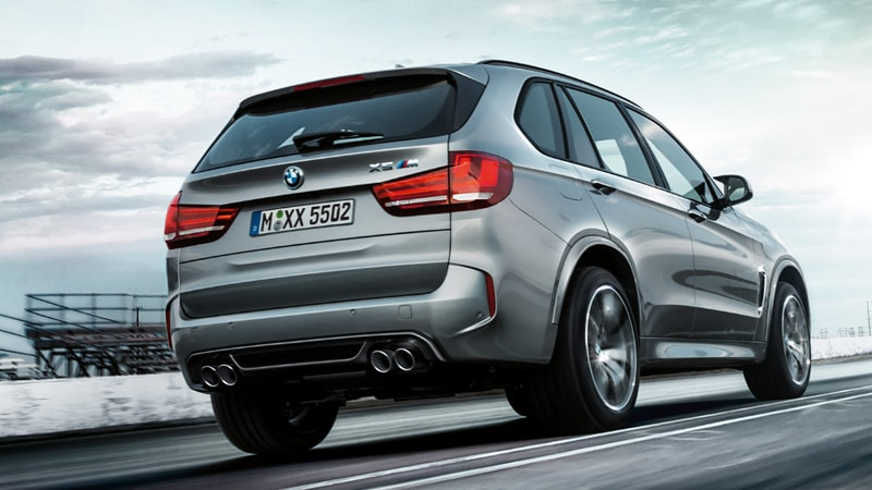 BMW X5 M Sport Pack Exterior Trasero