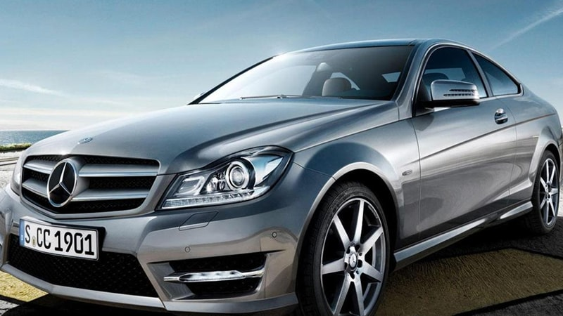 Mercedes C250 Coupe Frontal