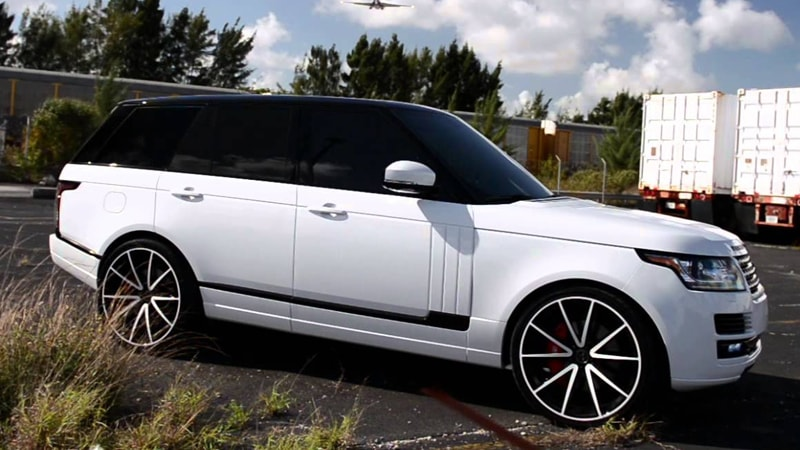Range Rover Vogue Lateral